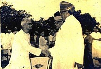 with Mysore Maharaja