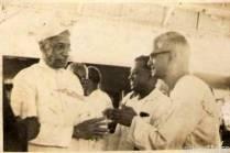 Dr.Radhakrishnan with Appa at Rameswaram
