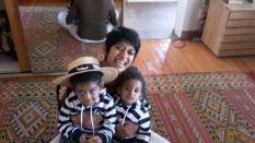 Sharmi n my Grandsons