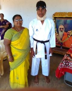 Pradeep with Principal