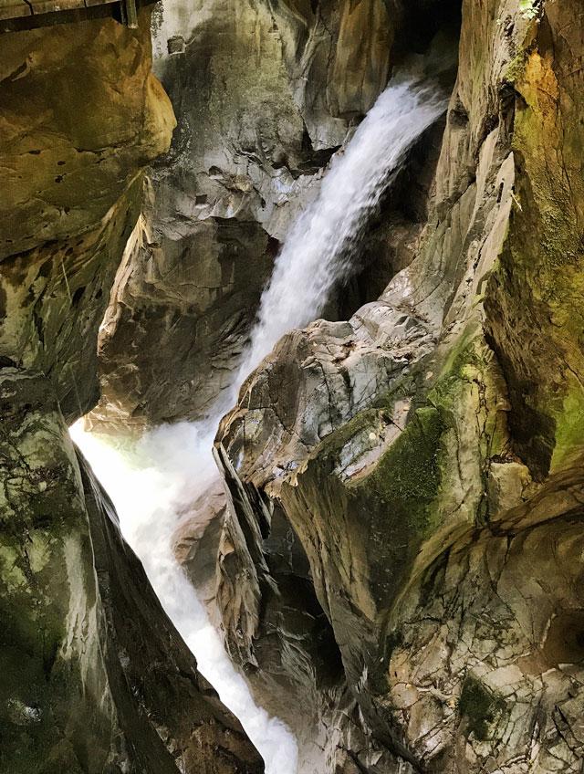 L'orrido di Bellano è una delle cose più belle della parte lecchese del Lago di Como