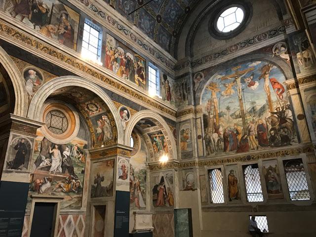 Cosa vedere a Brescia in un giorno? Il coro delle Monache del Museo di Santa Giulia