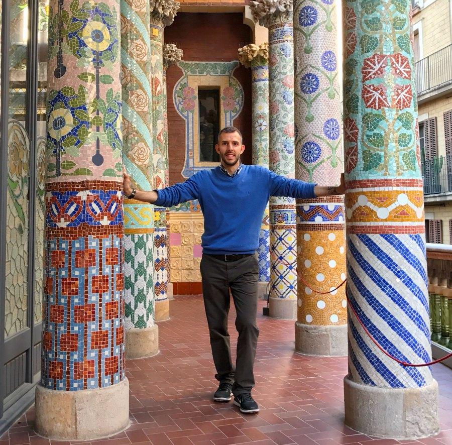 Simone Colombo, alias @srake, instagrammer esploratore di città, borghi e giardini