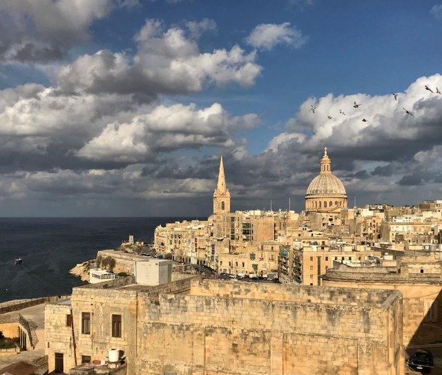 La Valletta, capitale di Malta con panorami mozzafiato