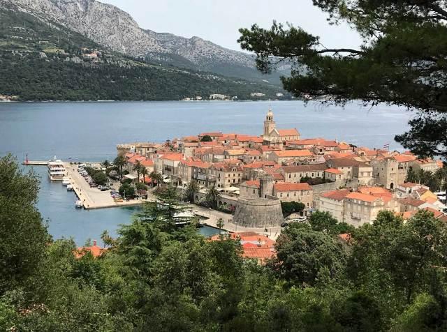 Korcula è da vedere per chi va a visitare Dubrovnik!