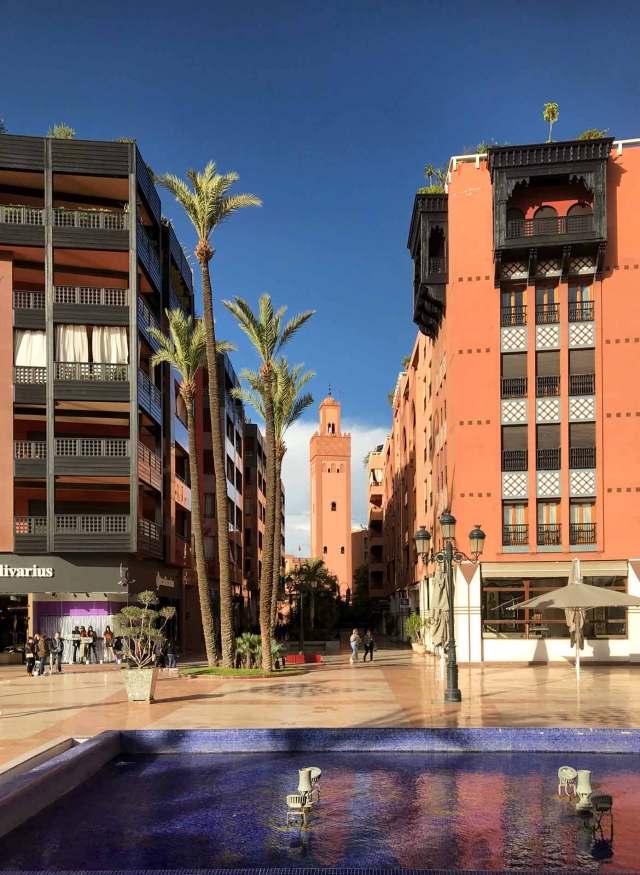 Il quartiere francese di Marrakech mostra le due facce della città!