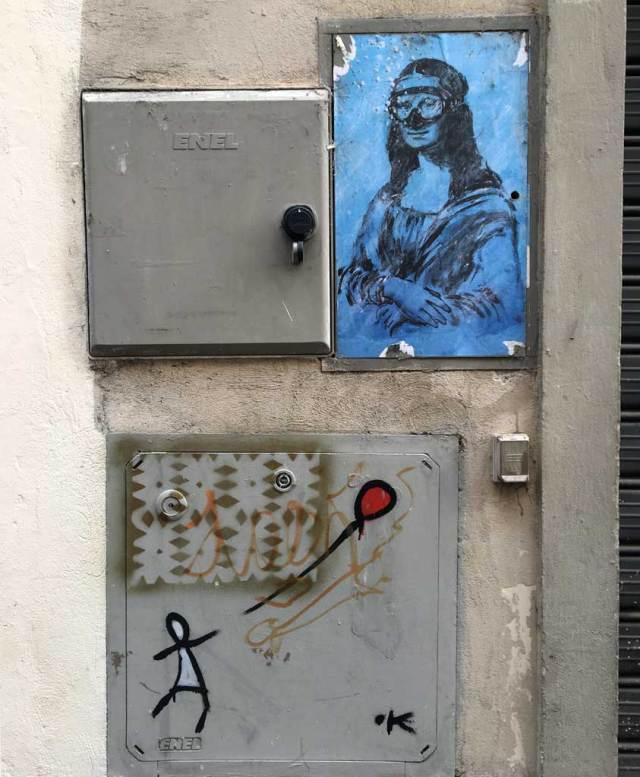 Una caccia al tesoro per chi viene a fotografare a Firenze: la sua street art è celebre e puoi scovarla ad ogni angolo!