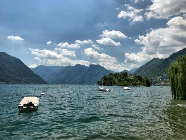 L'Isola Comacina è l'unica isola del Lago di Como qui si svolge la festa più importante del Lago