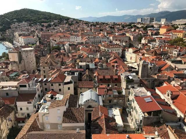 Dal Campanile di Spalato c'è la vista più bella della città della Dalmazia