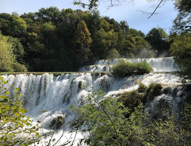 Le cascate del Parco Nazionale Krka sono una delle cose da vedere in Croazia
