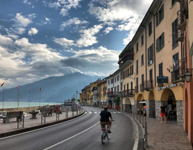 Domaso è un colorato paese dell'Alto Lago di Como dove regna pace e tranquillità