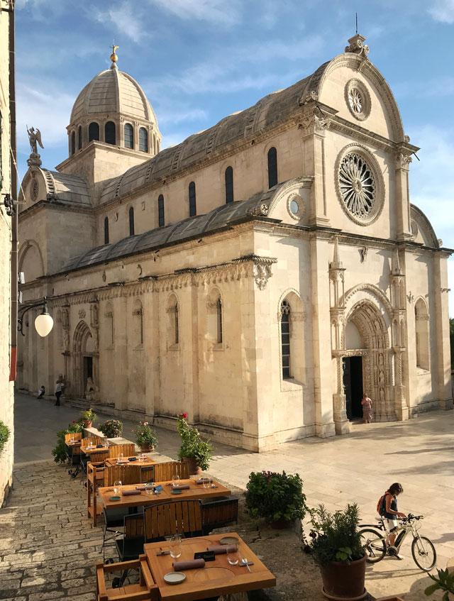 Sebenico è una bellissima cittadina della Croazia sulla costa della Dalmazia