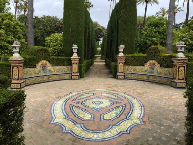 I giardini del Real Alcazar di Siviglia sono una meraviglia nella meraviglia!