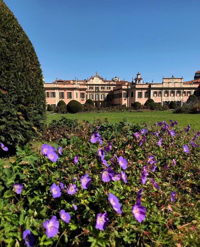 I Giardini Estensi a Varese furono ingranditi ispirandosi al palazzo viennese diSchönbrunn
