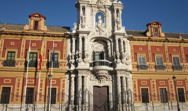Il giardino del magnifico Palacio de San Telmo creò il Parque Maria Luisa di Siviglia