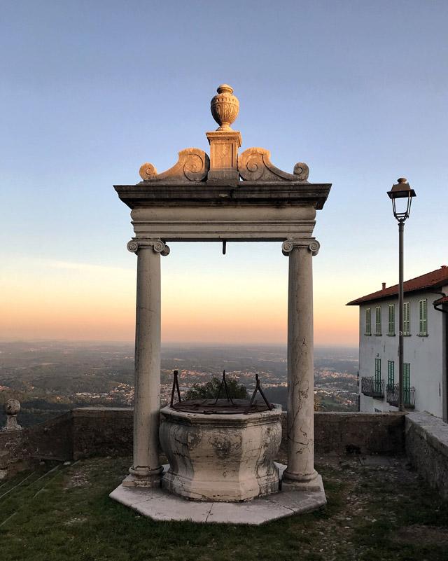 Il Sacro Monte di Varese è il posto perfetto per fare meravigliose foto al tramonto