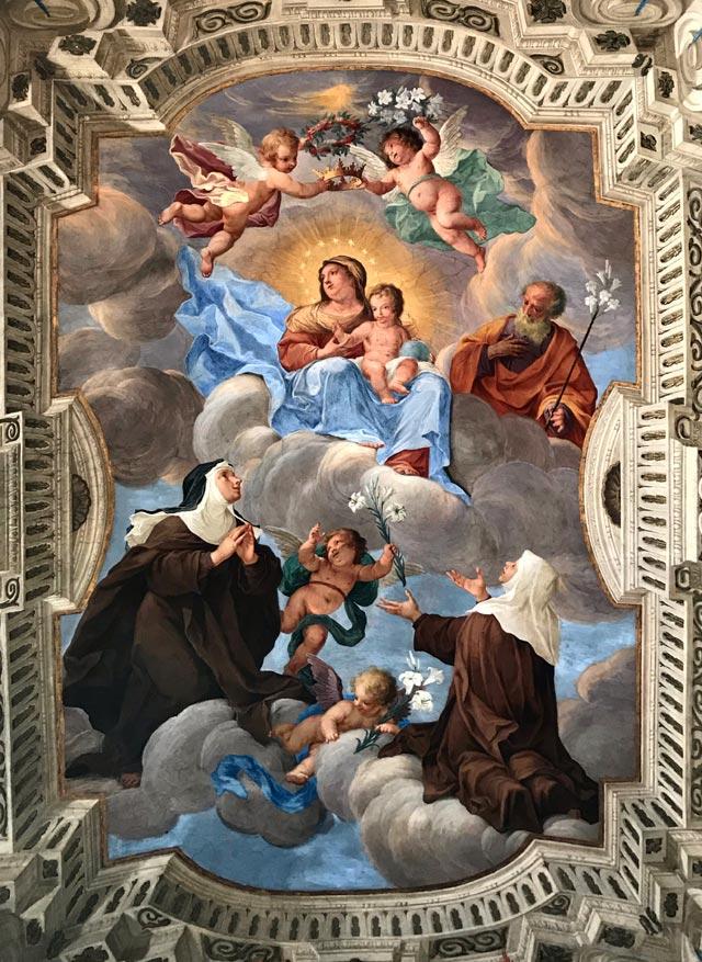 Il Santuario del Sacro Monte di Varese è un tripudio di affreschi barocchi