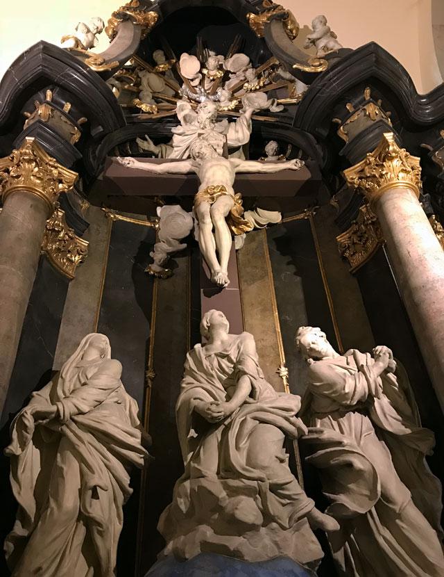 La Chiesa parrocchiale del Centro-Città è uno degli edifici barocchi di Budapest