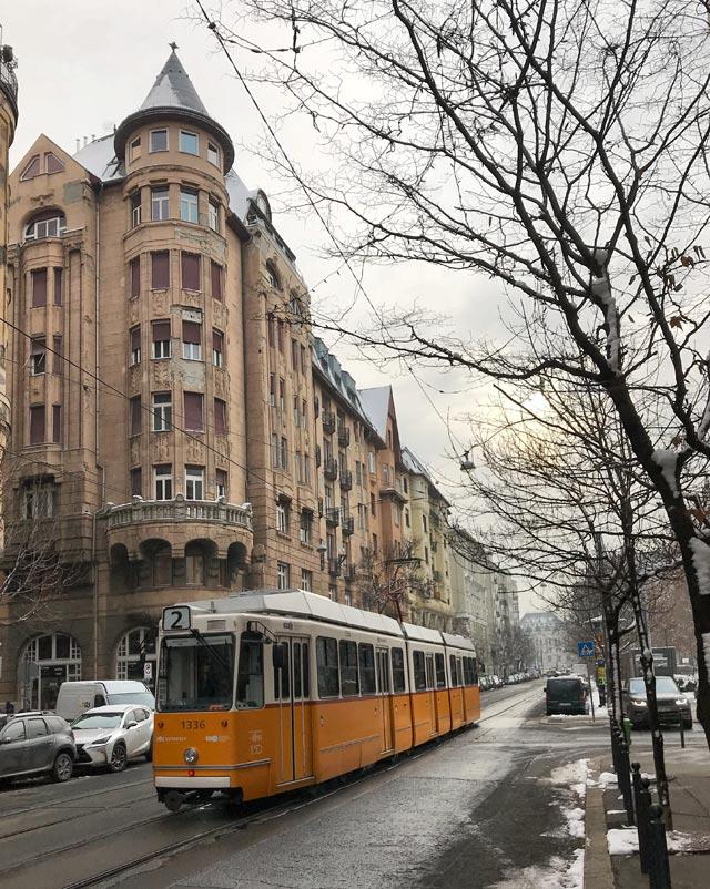 Budapest è una delle grandi capitali d'Europa da visitare in inverno