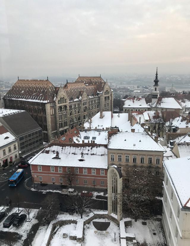La Torre di Santa Maria Maddalena regala splendidi panorami sulla Città Vecchia di Budapest