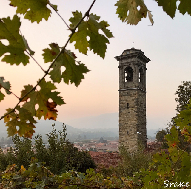 Le colline della Lombardia regalano panorami e vecchi paesi affascinanti