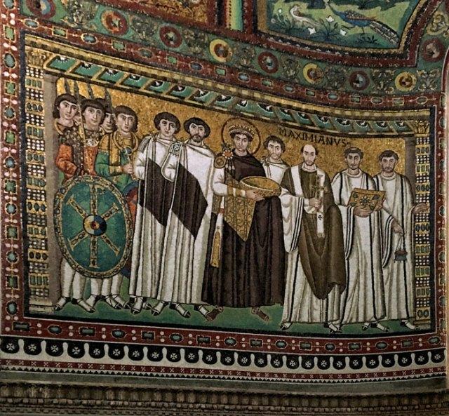 Il mosaico di Giustiniano a San Vitale è uno dei capolavori di Ravenna