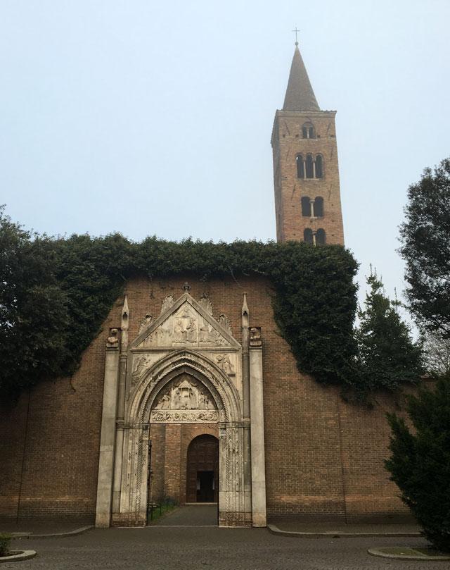 Tante chiese di Ravenna erano decorate da mosaici paleocristiani, come San Giovanni Evangelista