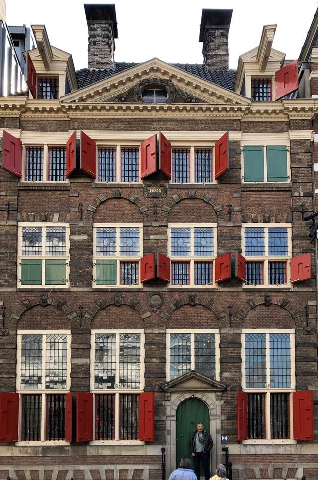 La Casa di Rembrandt a Amsterdam è da visitare per conoscere la vita di un artista del Seicento