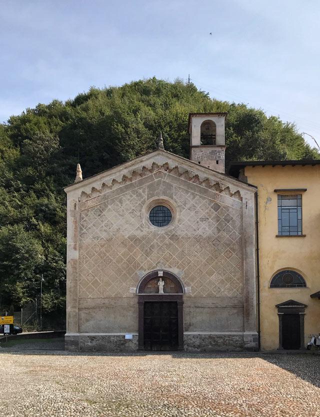 La chiesa di Santa Maria della Neve a Pisogne custodisce un tesoro del Lago d'Iseo