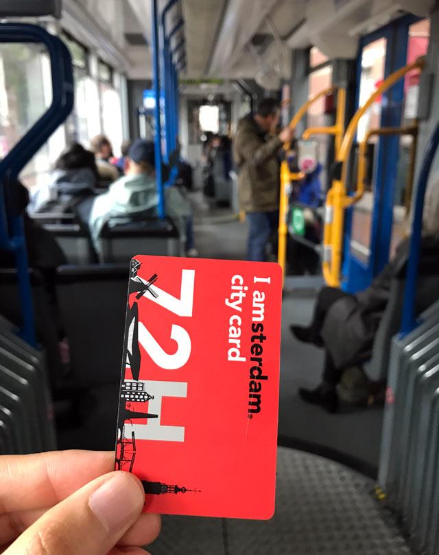 Con la I Amsterdam City Card usi gratis i mezzi pubblici e puoi visitare 70 musei