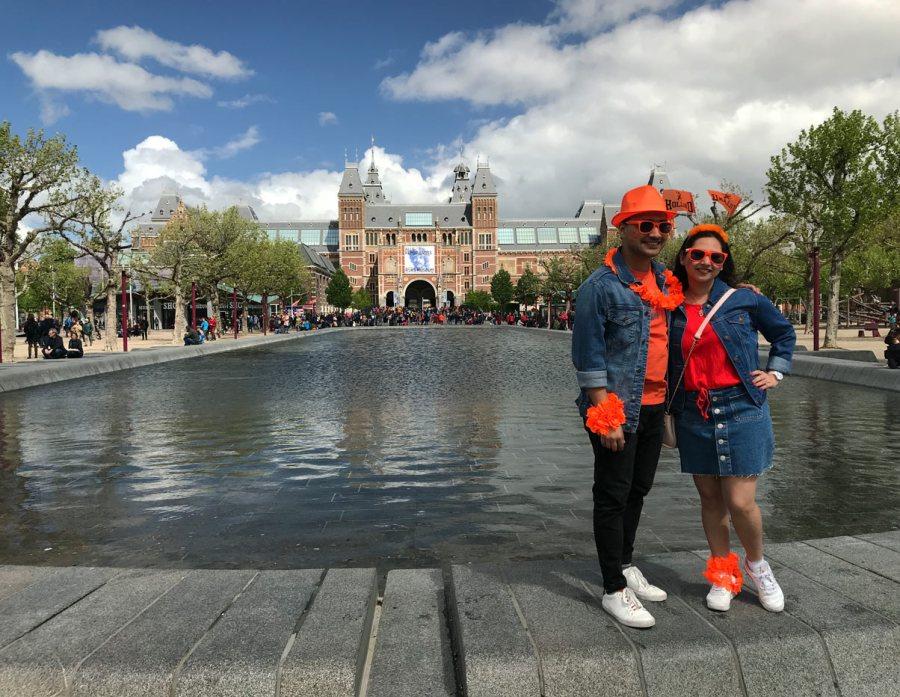 King's Day Giorno del Re Amsterdam