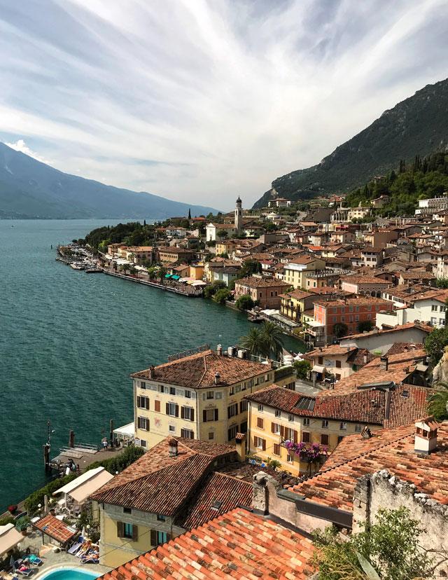 Limone è uno dei paesi da vedere sul Lago di Garda e della Lombardia