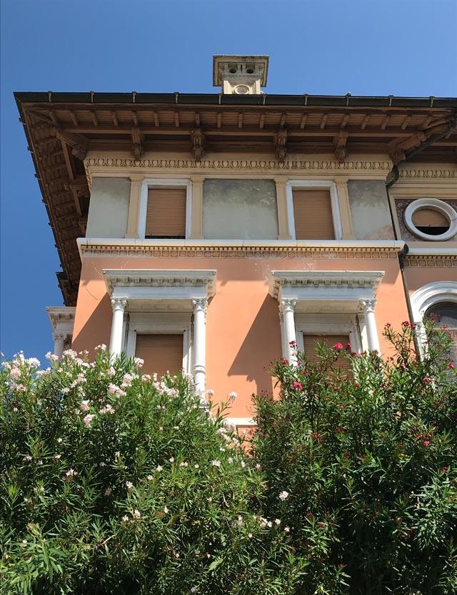 Palazzo Feltrinelli a Gargnano fu il quartier generale di Benito Mussolini