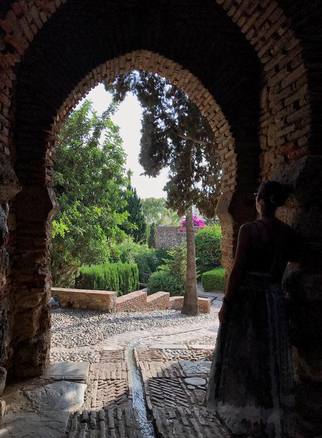 L'Alcazaba di Malaga era una fortezza araba difesa da imponenti mura