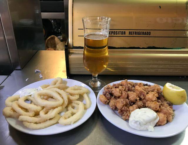 Dove mangiare pesce a Malaga? Al Mercato di Atarazanas in stile mudejar