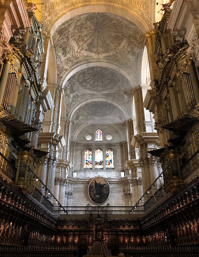 """Punto nevralgico di Malaga è la Cattedrale maestosa, detta """"La Manquita"""""""