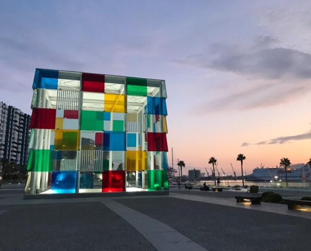 Cosa fare a Malaga? Ci sono tanti musei da visitare, tra cui il Centre Pompidou