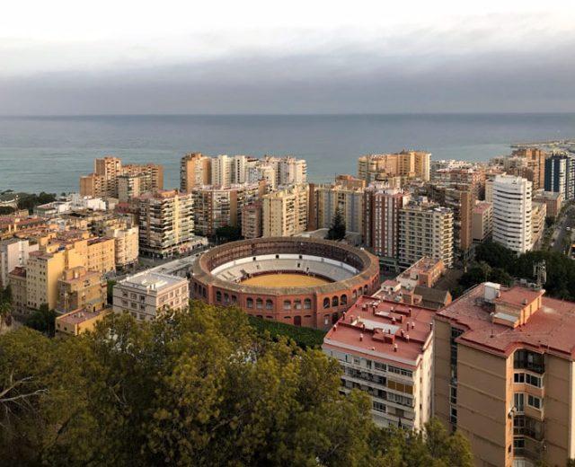 Il Mirador de Gibralfaro è un punto eccezionale per fotografare Malaga