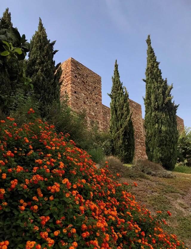 L'Alcazaba era la cittadella fortificata araba per difendere Malaga