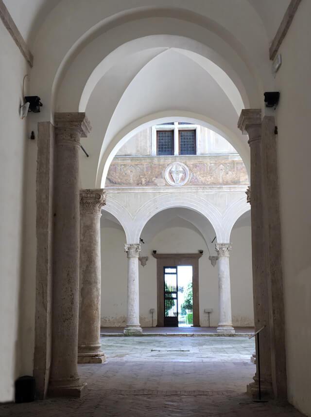 Palazzo Piccolomini è un edificio rinascimentale Patrimonio Unesco di Pienza in Toscana