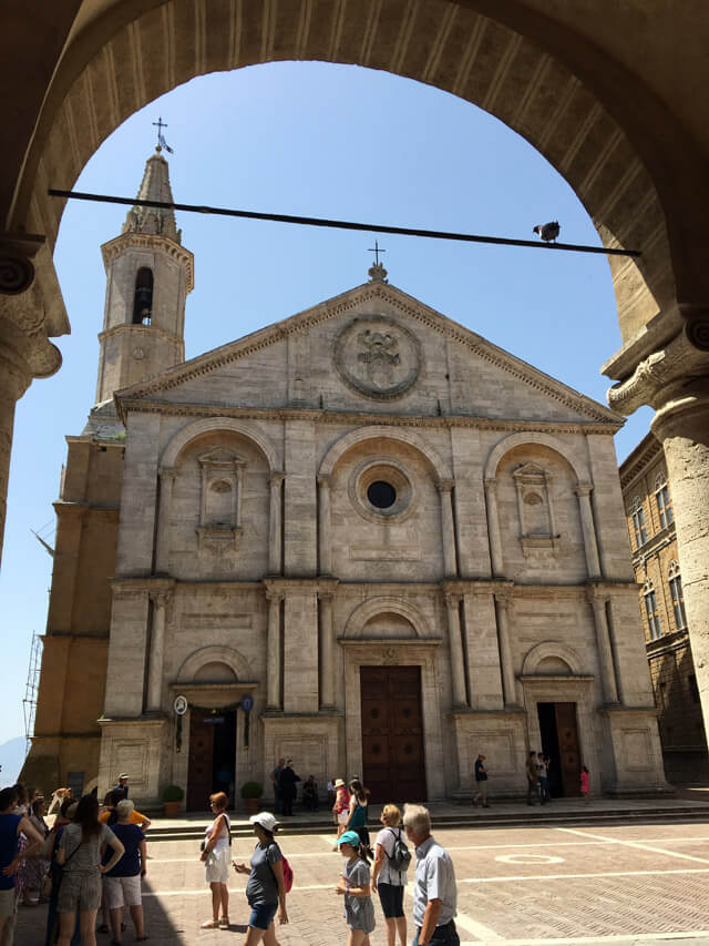Pienza è un borgo rinascimentale voluto da papa Pio II, dichiarato Patrimonio Unesco