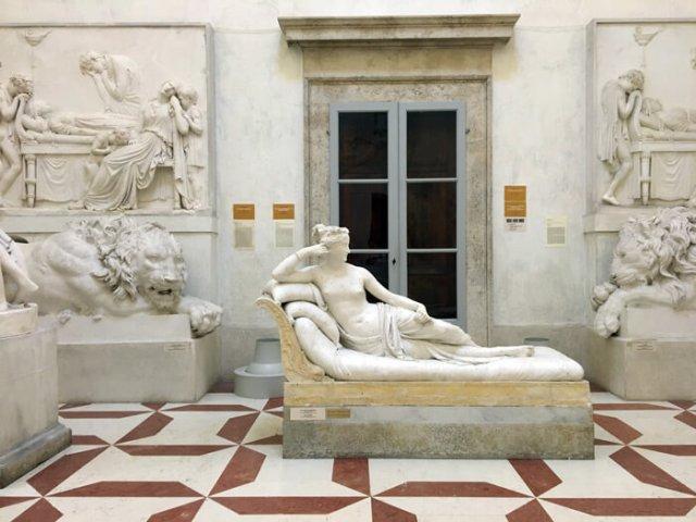 Il Museo Canova di Possagno contiene la Gipsoteca Canoviana, coi gessi dello scultore