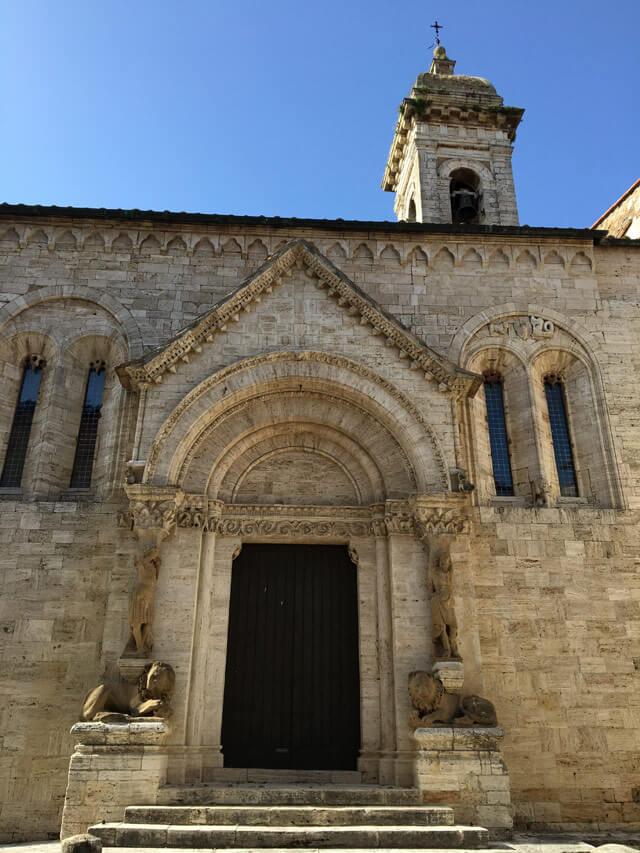 Cosa vedere a San Quirico d'Orcia? La Collegiatadei Santi Quirico e Giulitta