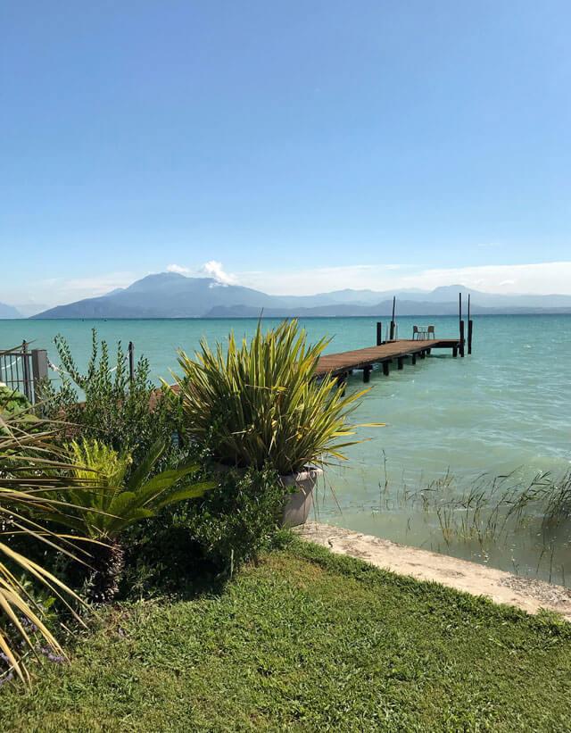 Sirmione è la perla del Lago di Garda, uno dei a visitare