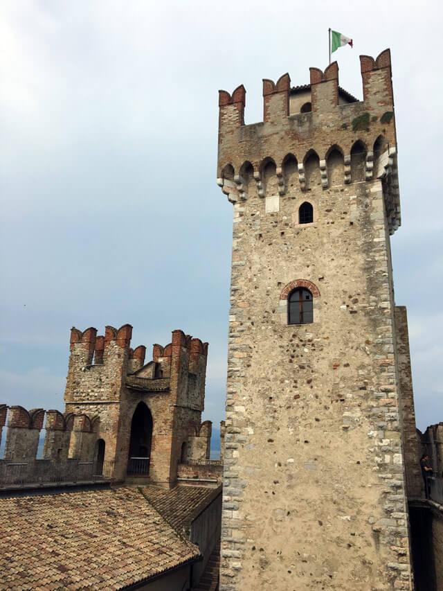 La Rocca scaligera è da vedere a Sirmione e sul Lago di Garda