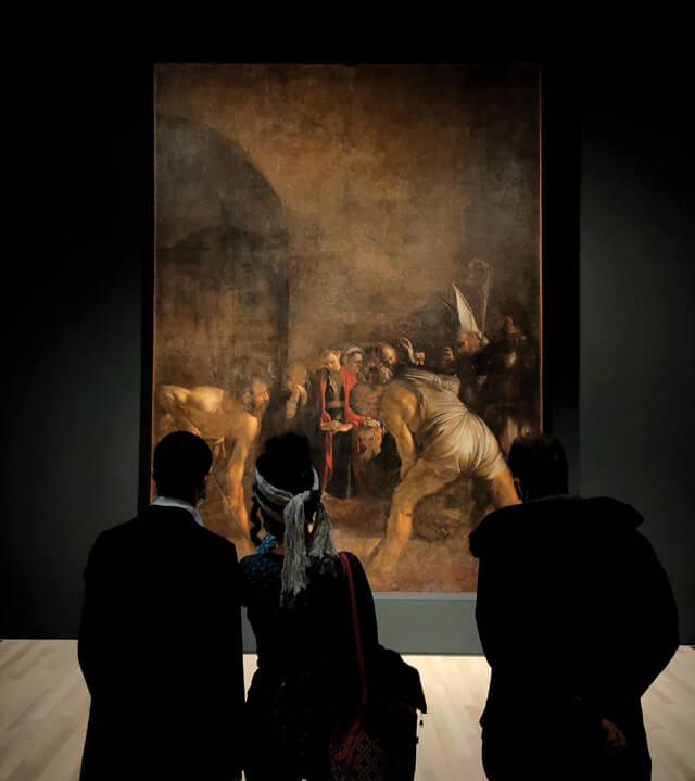 Il Seppellimento di Santa Lucia di Caravaggio è in mostra al Mart di Rovereto