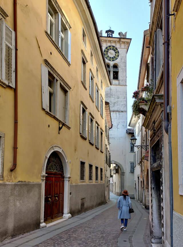 Il simbolo di Rovereto è l'antica Torre Civica con l'orologio