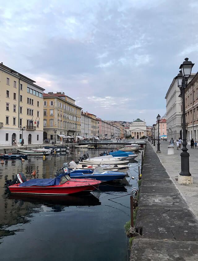 Il Borgo Teresiano è una zona da vedere a Trieste