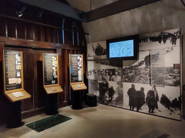 Il Museo delle Fortificazioni del Forte di Bard illustra la storia militare dai Romani al '900