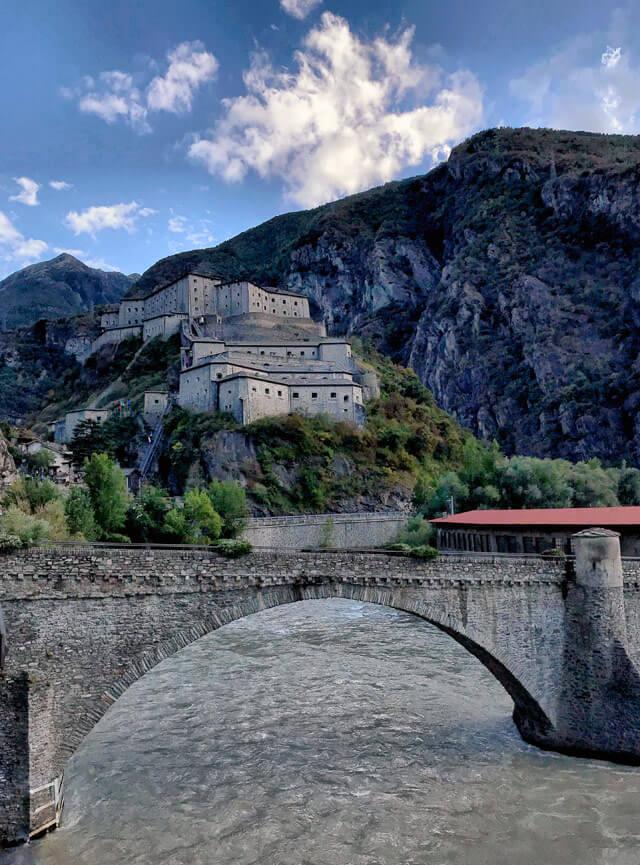 Il Forte di Bard è uno dei castelli più belli della Valle d'Aosta e d'Italia